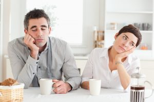 Confused couple thinking about Guaranteed issue rights